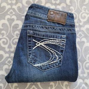 Silver Jeans Suki bootcut 29/32.5, medium blue